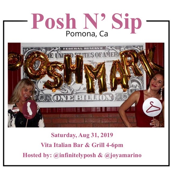 Posh N Sip Other - Posh N' Sip Happy Hour 8.31.2019 with @joyamarino